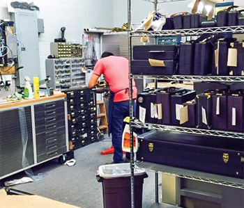Hewitt's Music offers in-house repairs on most instruments